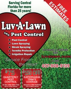 Pest Control Existing Customers