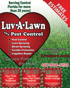 Pest Control - New Customers