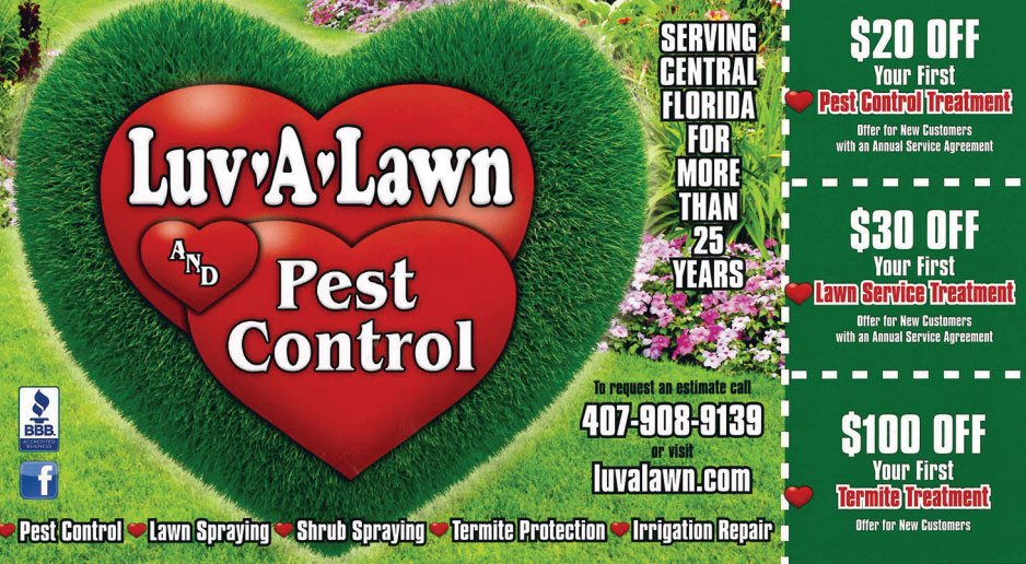 Pest Control Discount Offer