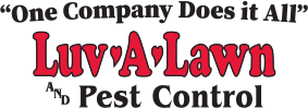 Luv-a-Lawn and Pest Control Logo - Luv-a-Lawn is middle Florida's best best control company.