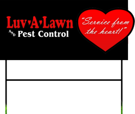 Luv-a-Lawn and Pest Control: Service From the Heart